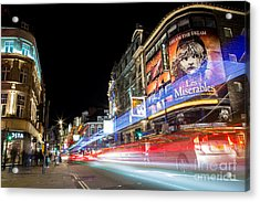 A Night In The West End Acrylic Print