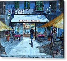Piccolo Bar Circo Massimo Acrylic Print