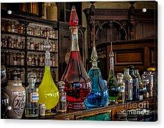 Pick An Elixir Acrylic Print by Adrian Evans
