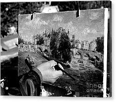 Pic...k The Artist Acrylic Print