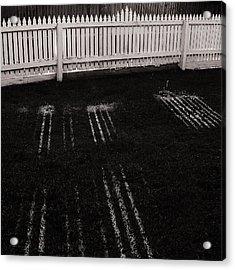 Picket Dreams Acrylic Print