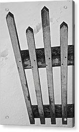 Pickets Acrylic Print by Odd Jeppesen