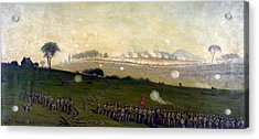 Picketts Charge On Union Center 3pm Acrylic Print