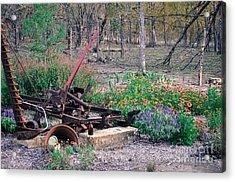 Pickle Creek Ranch Botanical Garden Acrylic Print