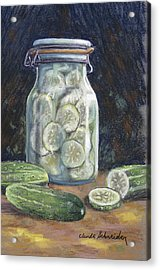 Pickled Cucumbers Acrylic Print