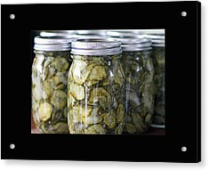 Pickles Acrylic Print