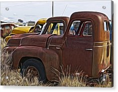 Pickup Cabs 2 Acrylic Print