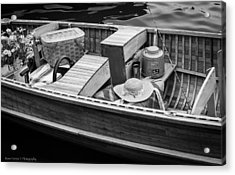 Acrylic Print featuring the photograph Picnic Boat by Ross Henton