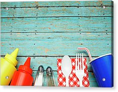 Picnic Essentials Acrylic Print by Dustypixel