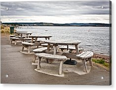 Picnic Tables Acrylic Print
