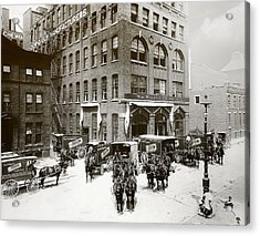 Picture 1 - Michigan Avenue 1901 Acrylic Print