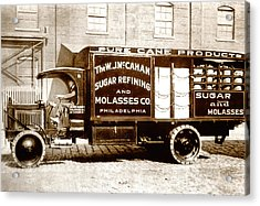 Picture 10 - New - Molasses Truck - Wide Acrylic Print