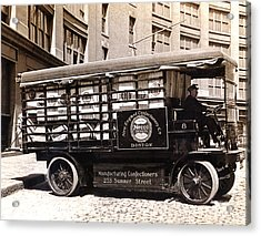 Picture 13 - New - Necco Delivery Truck Acrylic Print