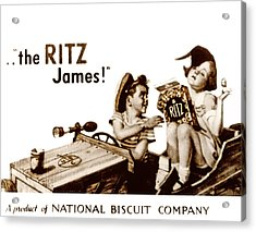 Picture 17- New- The Ritz James Acrylic Print