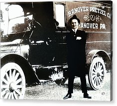 Picture 18 - New - Hanover Pretzel Acrylic Print