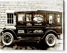 Picture 9 - New - Redfern Delivery Truck - Wide Acrylic Print