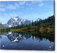 Acrylic Print featuring the photograph Picture Lake by Priya Ghose
