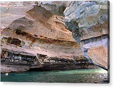 Pictured Rocks Bridge II Acrylic Print by Kevin Snider