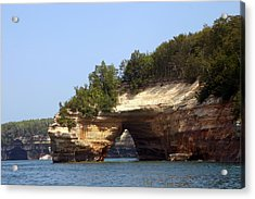 Pictured Rocks Bridge Acrylic Print by Kevin Snider