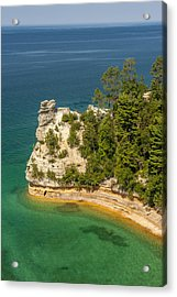 Pictured Rocks National Lakeshore Acrylic Print by Sebastian Musial