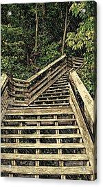 Picturesque Climb Acrylic Print