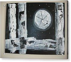 Pie In The Sky Acrylic Print by Sharyn Winters