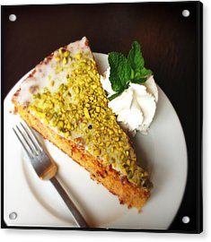 Piece Of Carrot Cake Acrylic Print