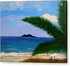 Piece Of Heaven Acrylic Print