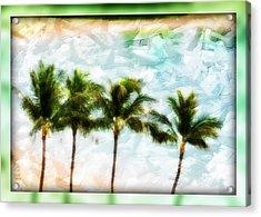 Pieced Paradise Acrylic Print