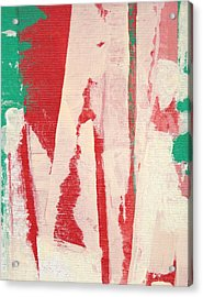 Acrylic Print featuring the painting Pieces Of The Puzzle C2013 by Paul Ashby
