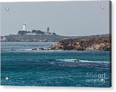 Piedras Blancas Lighthouse A2155 Acrylic Print by Stephen Parker