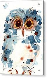 Pier 1 Owl Acrylic Print