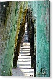 Pier Anchors  Acrylic Print