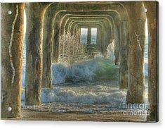 Pier Arches Acrylic Print