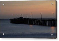 Pier Avilla Beach California  Acrylic Print