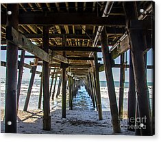 Pier Clemente Acrylic Print by Baywest Imaging