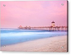Pier In Early Morning Acrylic Print