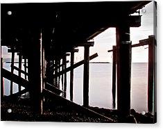 Pier Ocean And Angles Acrylic Print