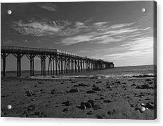 Pier San Simeon-1 Acrylic Print