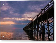 Pier To The Horizon Acrylic Print