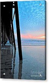 Pier Under Acrylic Print