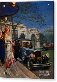 Pierce Arrow  1920s Usa Cc Cars Womens Acrylic Print by The Advertising Archives