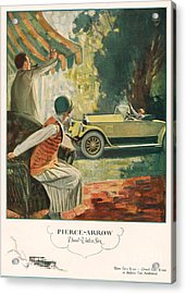 Pierce Arrow 1925 1920s Usa Cc Cars Acrylic Print by The Advertising Archives