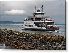 Pierce County Washington Ferry Acrylic Print