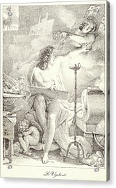 Pierre Guérin French, 1774 - 1833. The Vigilant One Le Acrylic Print