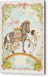 Pierrot Acrylic Print