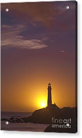 Pigeon Point Lighthouse 2 Acrylic Print by Theresa Ramos-DuVon