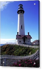 Pigeon Point Lighthouse 3 Acrylic Print by Kathy Yates
