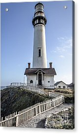 Pigeon Point Lighthouse Acrylic Print by Amy Fearn