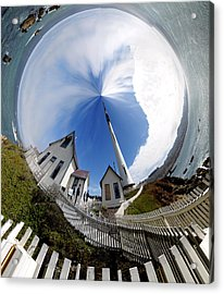 Pigeon Point Lighthouse Polar View Acrylic Print